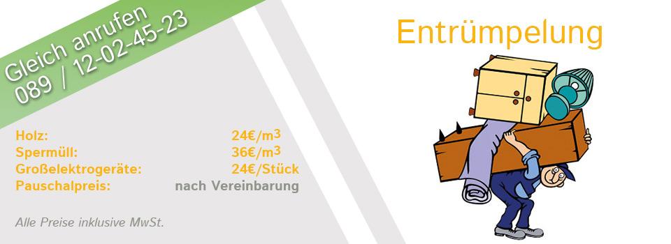 Entrümpelung München - Start